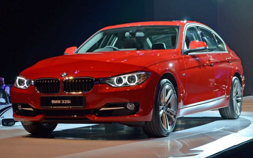 BMW F30 3-Series launched – 335i, 328i, 320d Image #95369