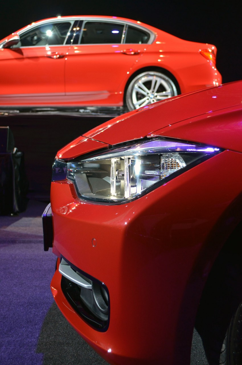 BMW F30 3-Series launched – 335i, 328i, 320d Image #95371