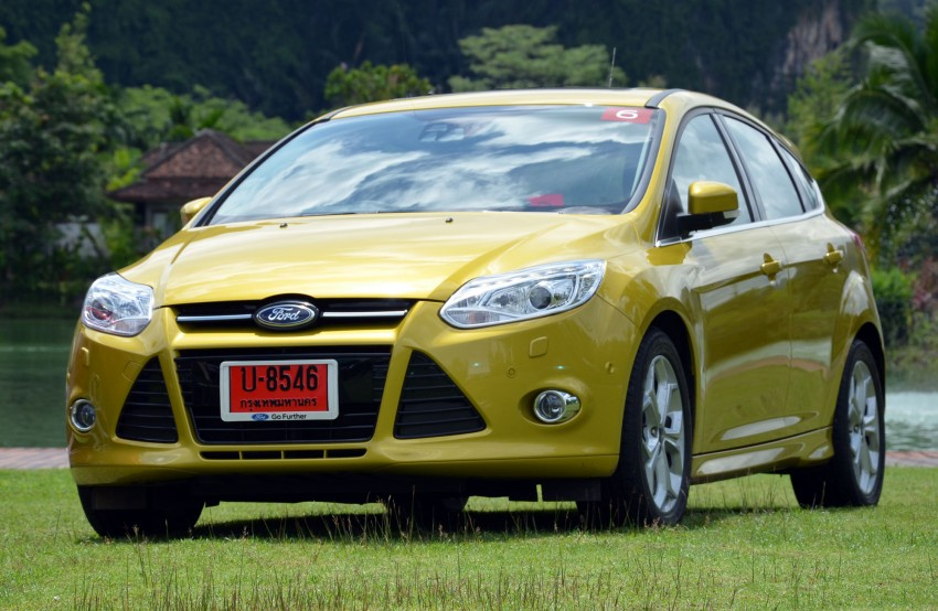 DRIVEN: New Ford Focus Hatch and Sedan in Krabi Image #118315