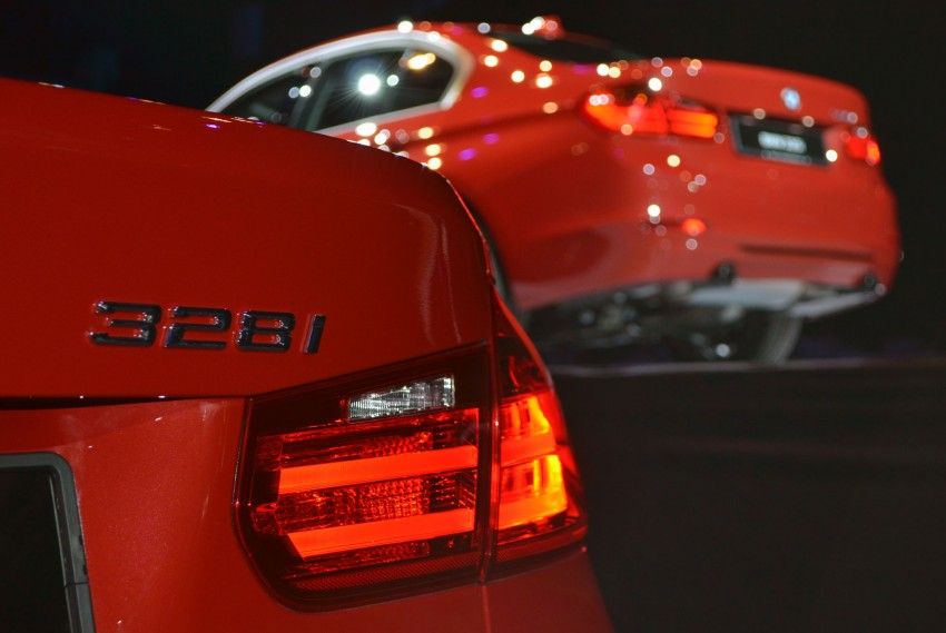 BMW F30 3-Series launched – 335i, 328i, 320d Image #95375