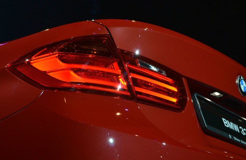 BMW F30 3-Series launched – 335i, 328i, 320d Image #95377