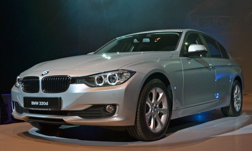 BMW F30 3-Series launched – 335i, 328i, 320d Image #95378
