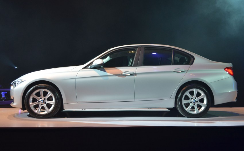 BMW F30 3-Series launched – 335i, 328i, 320d Image #95381