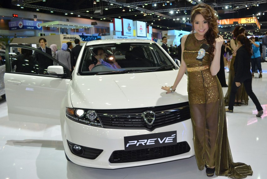 Proton Prevé and Exora Prime launched at Thai Motor Expo, C-segment sedan priced from 625,000 baht Image #143133