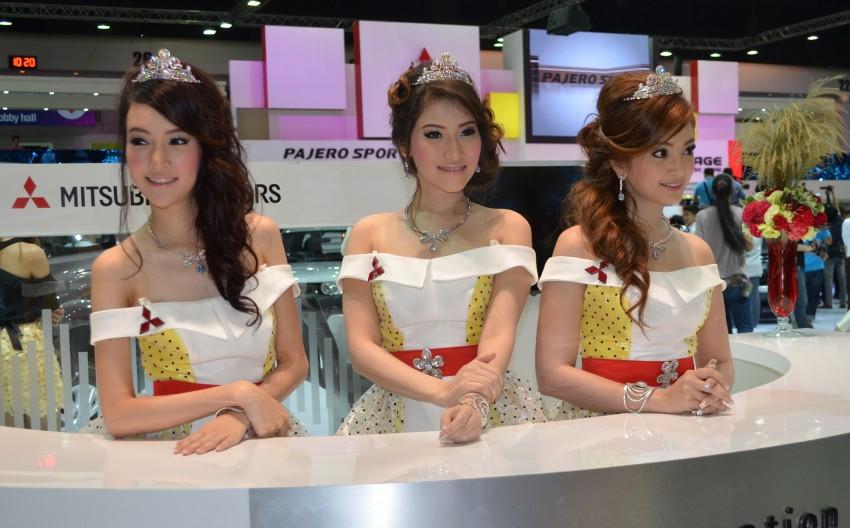 2012 Thai Motor Expo – the ladies wrap it up Image #144554