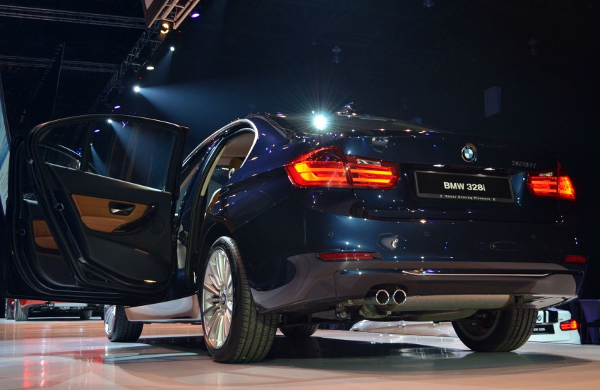 BMW F30 3-Series launched – 335i, 328i, 320d Image #95385