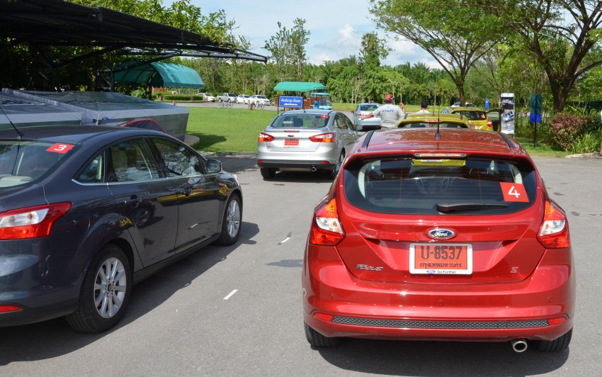 DRIVEN: New Ford Focus Hatch and Sedan in Krabi Image #118320