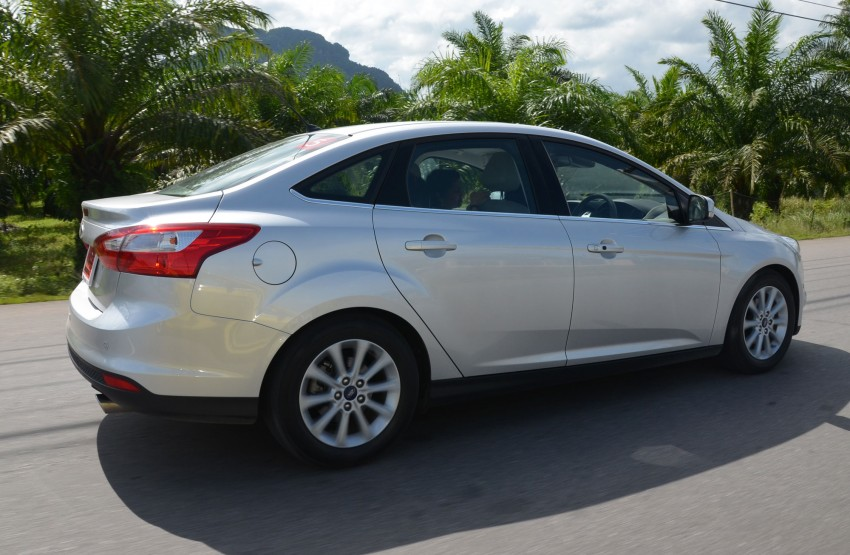 DRIVEN: New Ford Focus Hatch and Sedan in Krabi Image #118321