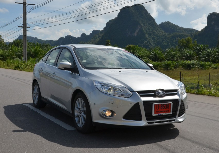 DRIVEN: New Ford Focus Hatch and Sedan in Krabi Image #118322