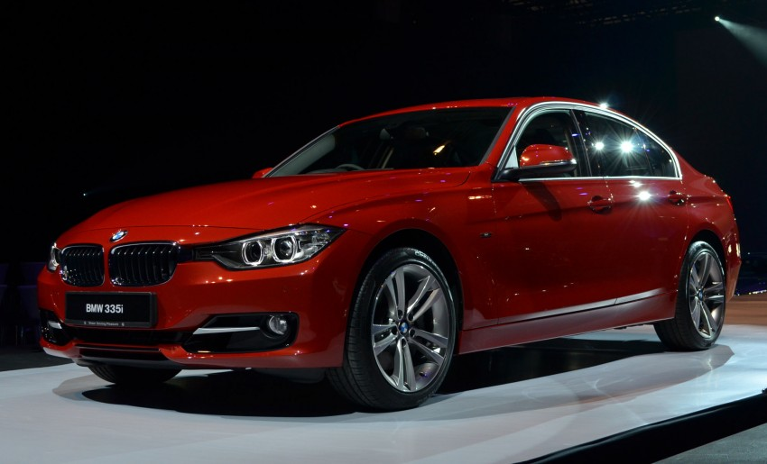 BMW F30 3-Series launched – 335i, 328i, 320d Image #95388