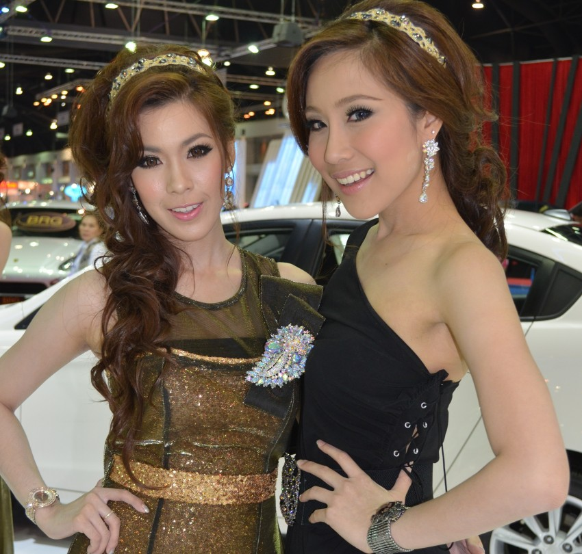 2012 Thai Motor Expo – the ladies wrap it up Image #144543