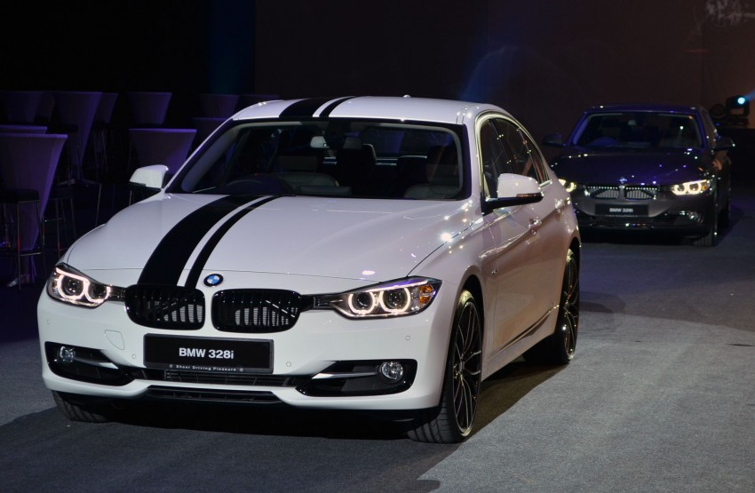 BMW F30 3-Series launch: BMW M Performance kit display Image #96619