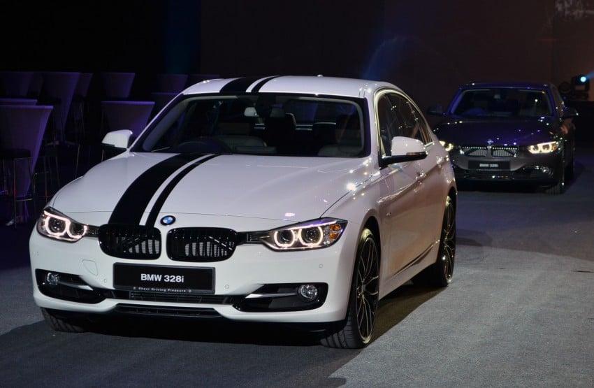 BMW F30 3-Series launch: BMW M Performance kit display Image #96619