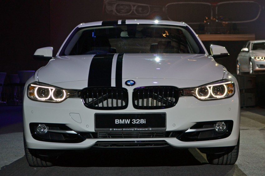 BMW F30 3-Series launch: BMW M Performance kit display Image #96620