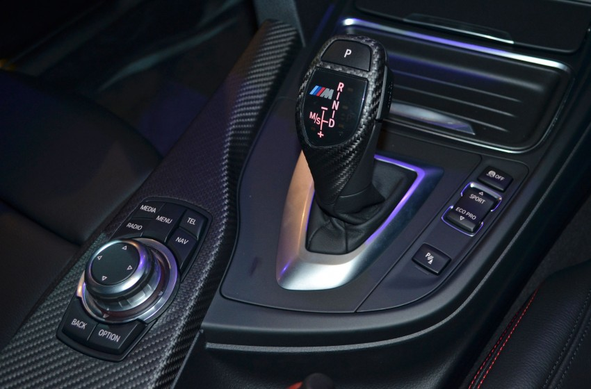 BMW F30 3-Series launch: BMW M Performance kit display Image #96622