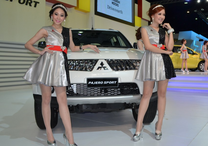 2012 Thai Motor Expo – the ladies wrap it up Image #144545