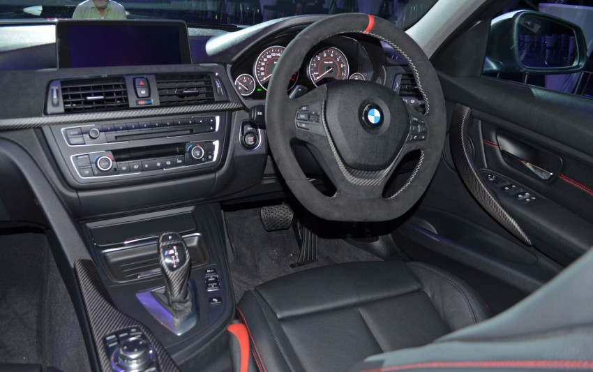 BMW F30 3-Series launch: BMW M Performance kit display Image #96624