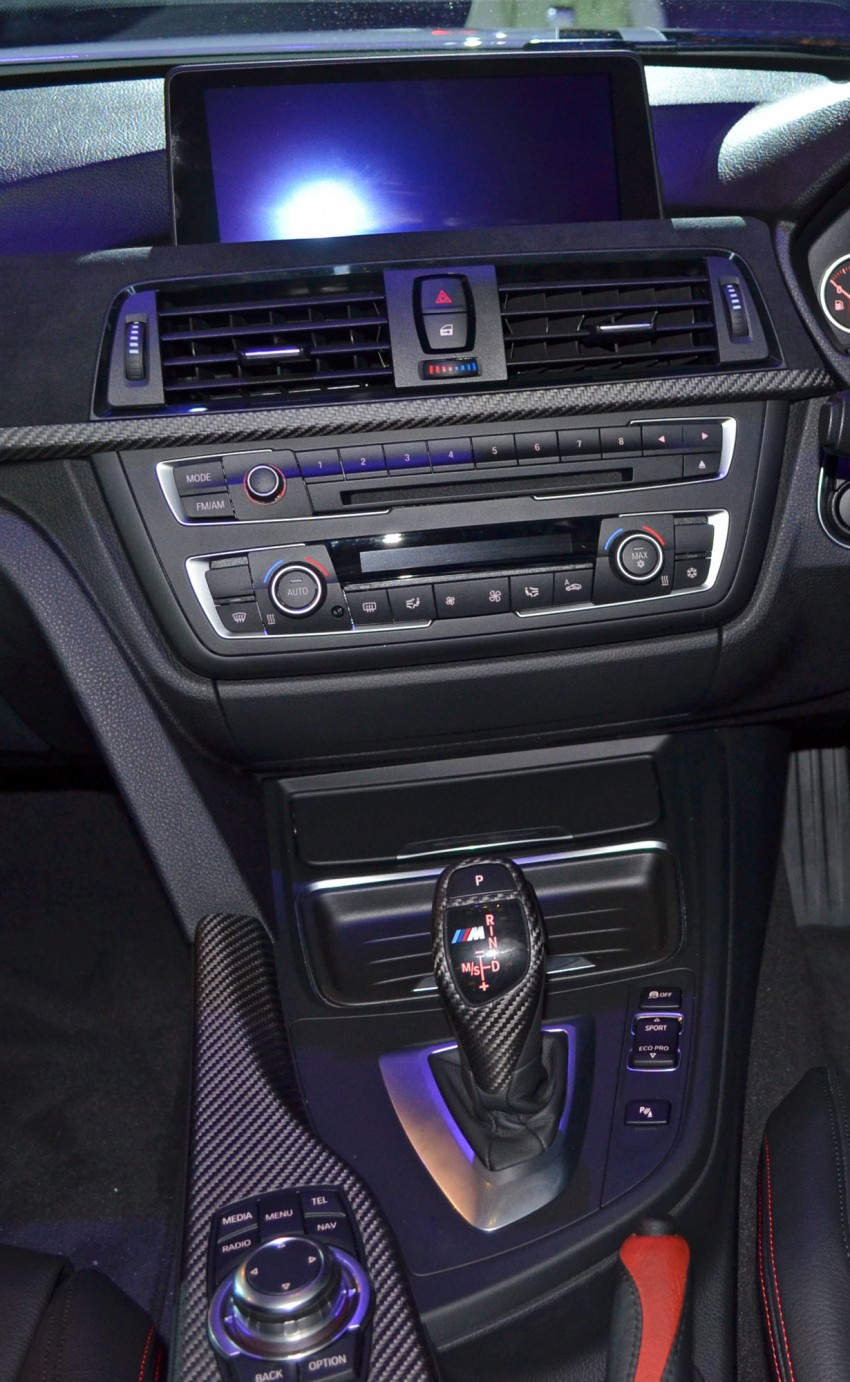 BMW F30 3-Series launch: BMW M Performance kit display Image #96625