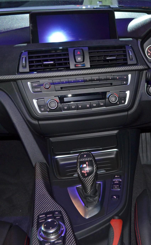 BMW F30 3-Series launch: BMW M Performance kit display Image #96625