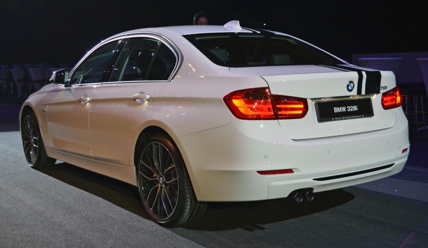 BMW F30 3-Series launch: BMW M Performance kit display Image #96626