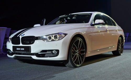 BMW F30 3-Series launch: BMW M Performance kit display Image #121345