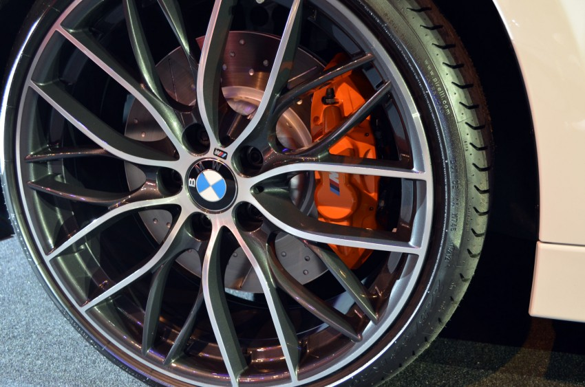 BMW F30 3-Series launch: BMW M Performance kit display Image #96628