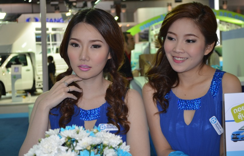 2012 Thai Motor Expo – the ladies wrap it up Image #144582