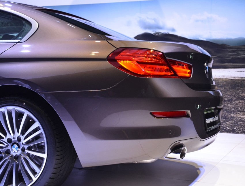 BMW 640i Gran Coupe launched: RM788,800 Image #115109