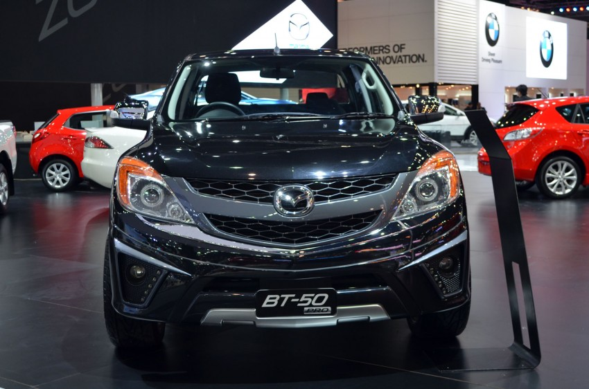 Thai Motor Expo: Mazda BT-50 Thrilling with the bling Image #143508