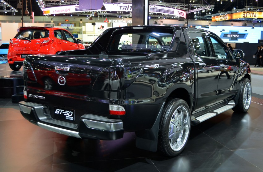Thai Motor Expo: Mazda BT-50 Thrilling with the bling Image #143511