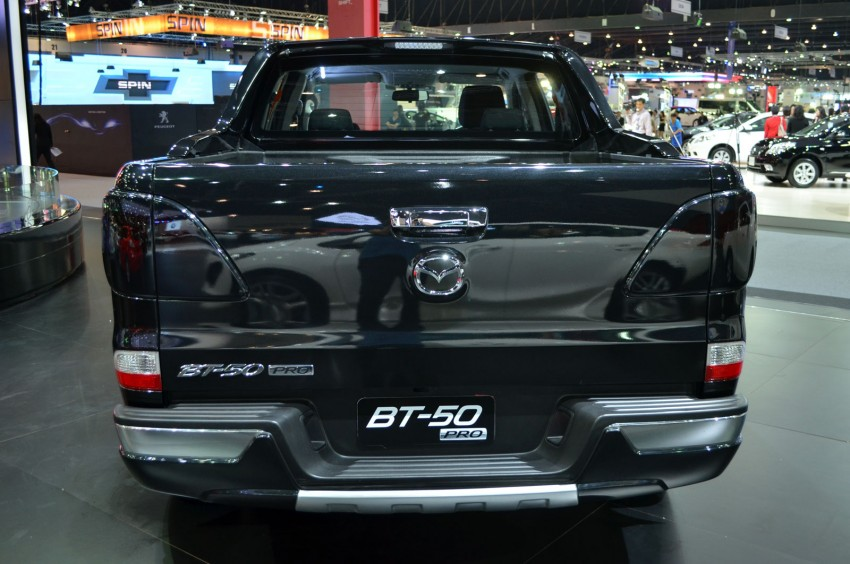 Thai Motor Expo: Mazda BT-50 Thrilling with the bling Image #143513