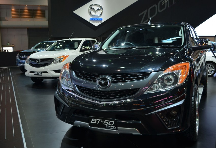 Thai Motor Expo: Mazda BT-50 Thrilling with the bling Image #143514