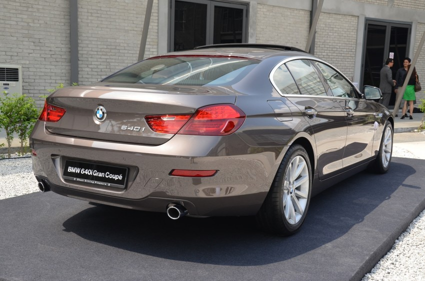 BMW 640i Gran Coupe launched: RM788,800 Image #115119