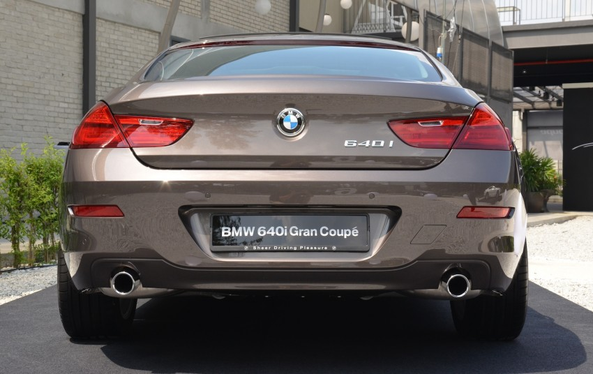 BMW 640i Gran Coupe launched: RM788,800 Image #115120