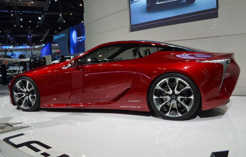 Thai Motor Expo: Lexus LF-LC Concept visits BKK Image #144227