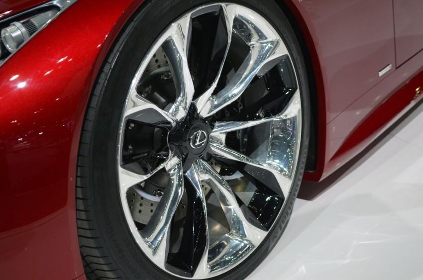 Thai Motor Expo: Lexus LF-LC Concept visits BKK Image #144230