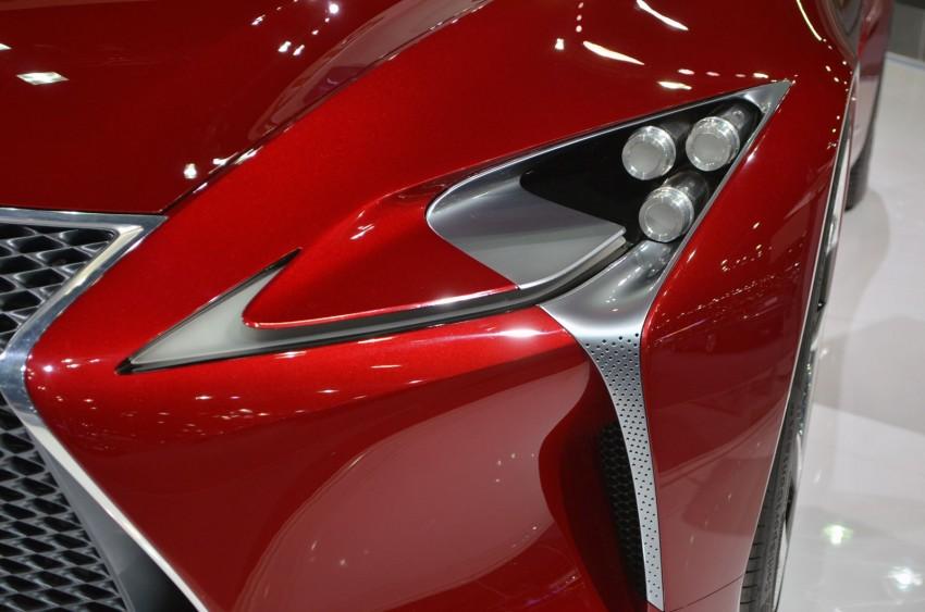 Thai Motor Expo: Lexus LF-LC Concept visits BKK Image #144232