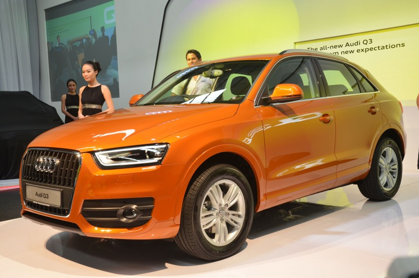 Audi Q3 launched – 2.0 TFSI, 170 hp, RM258k Image #115193