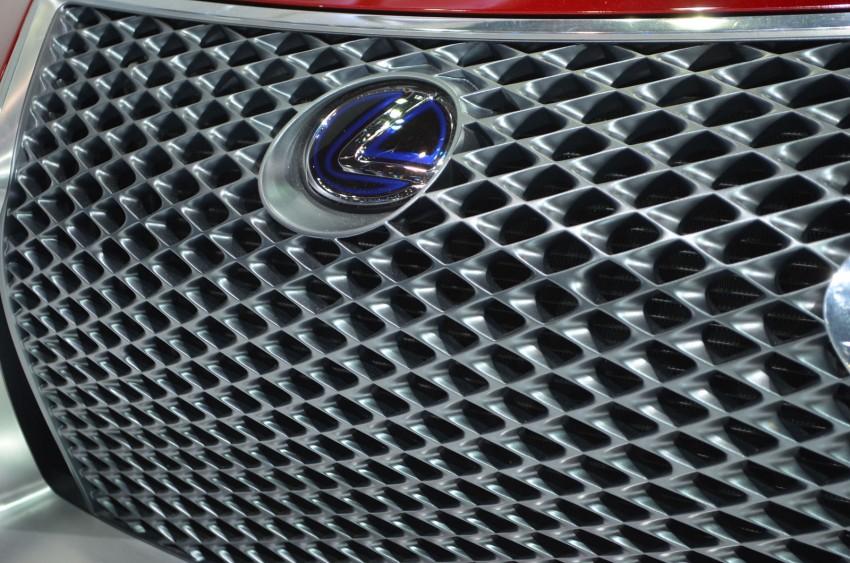 Thai Motor Expo: Lexus LF-LC Concept visits BKK Image #144233