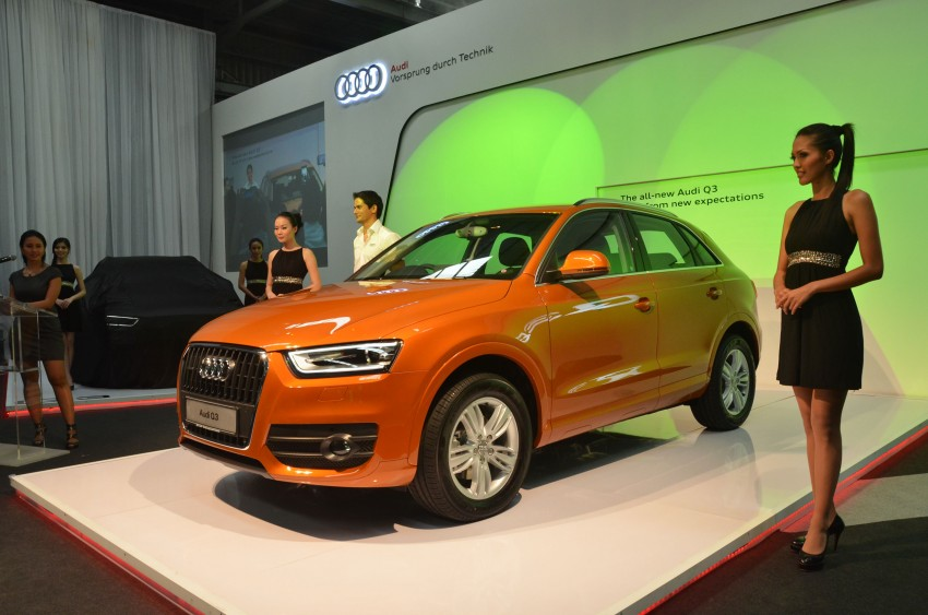 Audi Q3 launched – 2.0 TFSI, 170 hp, RM258k Image #115194