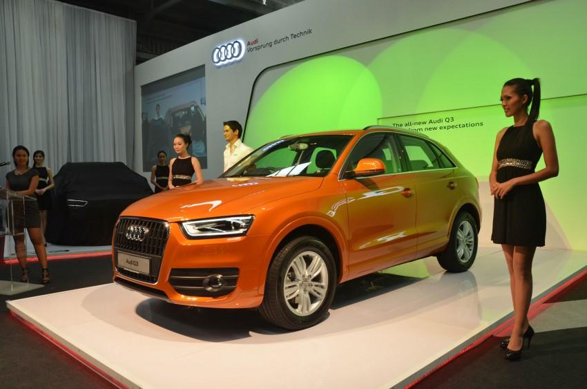 Audi Q3 launched – 2.0 TFSI, 170 hp, RM258k Image #115194