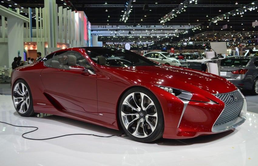 Thai Motor Expo: Lexus LF-LC Concept visits BKK Image #144235
