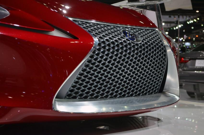 Thai Motor Expo: Lexus LF-LC Concept visits BKK Image #144236