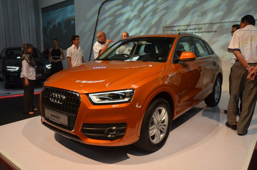 Audi Q3 launched – 2.0 TFSI, 170 hp, RM258k Image #115196