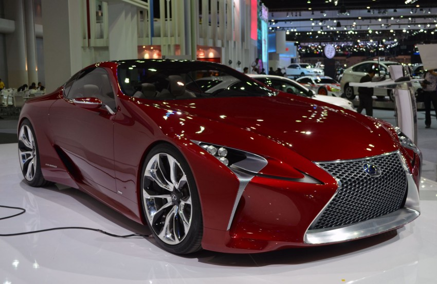 Thai Motor Expo: Lexus LF-LC Concept visits BKK Image #144237
