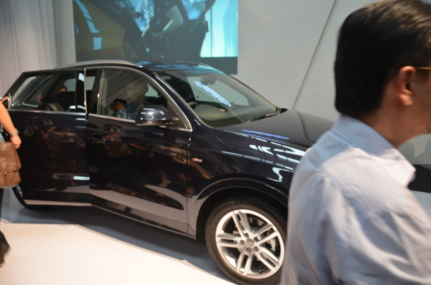 Audi Q3 launched – 2.0 TFSI, 170 hp, RM258k Image #115205