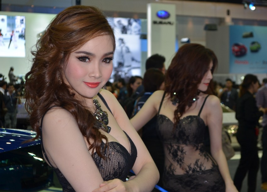 2012 Thai Motor Expo – the ladies wrap it up Image #144593
