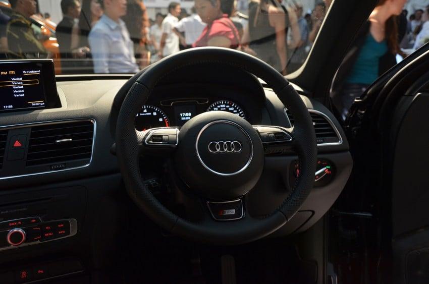 Audi Q3 launched – 2.0 TFSI, 170 hp, RM258k Image #115214