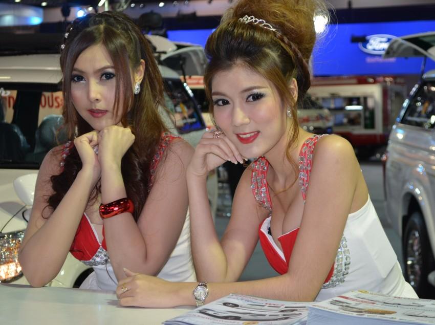 2012 Thai Motor Expo – the ladies wrap it up Image #144606