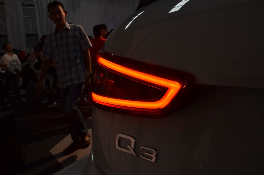 Audi Q3 launched – 2.0 TFSI, 170 hp, RM258k Image #115219